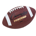 "Champion Pro Composite Football, Intermediate Size, 21"", Brown"
