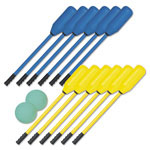 Champion Soft Polo Set, Rhino Skin, Blue and Yellow, 12 Sticks/2 Balls