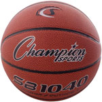 "Champion Composite Basketball, Official Junior, 27.75"", Brown"