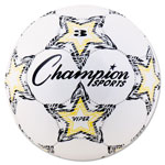 Champion VIPER Soccer Ball, Size 3, White