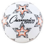 Champion VIPER Soccer Ball, Size 4, White
