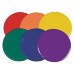"CH Extra Large Poly Marker Set, 12"" Diameter, Assorted Colors, 6 Spots/Set"
