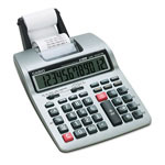 Casio HR100TM Portable Printing Calculator, 2 Color, 12 Digits LCD