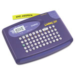 Casio Qwerty Labelmaker w/4 Digit LCD Display, 1 Printable Line, Beige