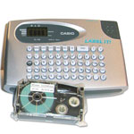 "Casio Kl60Sr Compact Ez-Label Label-It Label Printer for 1/2"" Wide Tapes"