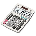 Casio MS-80S Tax and Currency Calculator, 8-Digit LCD