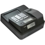 "Casio Entry Lvl Thermal Cash Register, 12-4/5"" x 13-1/2"" x 6-1/2"",BK"