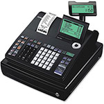"Casio Display Cash Register, 10-Line, 12-4/5"" x 13-1/2"" x 6-1/2"", BK"
