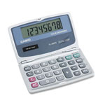 Casio SL200TE Handheld Foldable Pocket Calculator, Solar/Battery, 8 Digit Display