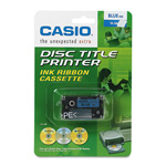 "Casio Thermal Ink Ribbon for CW50/CW75 Disc Title Printers, 3/4""w, Blue"