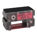 Casio Thermal Ink Ribbon For Csocwe60/Cwe85 Disc Title Printers, 3/4W, Red