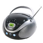 Coby Portable AM/FM Radio MP3 CD Player