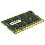 Crucial Memory - 512 MB - SO DIMM 200-pin - DDR