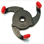 "CTA Tools Oil Filter Wrench, Clamping Style, 2-3/8"" to 3-3/4"", Three Short Clamping Legs, 3/8"" Drive"