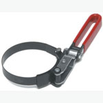 "CTA Tools Oil Filter Wrench, Narrow Band, Swivel, 2-9/16"" to 3-1/4"", Vinyl Coated Handle"