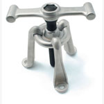 "CTA Tools Universal Hub Puller 3 adjustable legs 8"" bolt and fine-threaded 1-1/8"" hex drive center bolt."