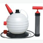 CTA Tools Fluid Evacuator, with Pour Spout, 6.3 Quart Capacity, for Oil, Gear Lube, Gas or Coolant, 7' Hose