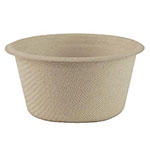 World Centric 2 oz Cups, Unbleached, Plant Fiber, Compostable