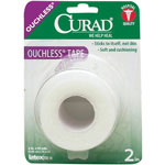 "Curad Tapes - Tape, Ouchless, 1"" x 2.3Yd, 24Bx/Cs"