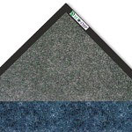 Crown Mats & Matting EcoStep Vinyl Floor Mat, 4' x 6', Charcoal