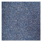 Crown Rely-On Olefin Indoor Wiper Mat, 36 x 120, Blue/Black