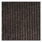Crown Needle-Rib Wiper/Scraper Mat, Polypropylene, 36 x 48, Brown