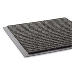 "Crown Mats & Matting Needle Rib™ Vinyl & Polyproylene Scraper Mat, 36"" x 120"", Gray"
