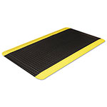 Crown Workers-Delight Deck Plate, 36 x 60, Black/Yellow