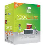Microsoft Xbox Live 12 Month Messenger Gold Pack With Project Gotham Racing - Game Console Accessory Kit