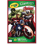 "Crayola Avengers Giant Coloring Pages, 18 Pages, 12-3/4"" x 19-1/2"""
