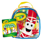 Crayola Art Buddy Backpack, 38 Pieces, Ages 4 and Up