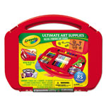 Binney and Smith Ultimate Art Supplies and Easel with 85 Pieces, Ages 4 and Up
