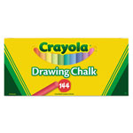 Crayola Colored Drawing Chalk, Six Each of 24 Assorted Colors, 144 Sticks/Set
