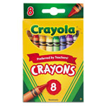 Crayola Classic Color Pack Crayons, 8 Colors/Box