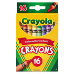 Crayola Classic Color Pack Crayons, 16 Colors/Box
