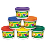 Crayola Modeling Dough Bucket, 3 lbs., Assorted, 6 Buckets/Set