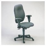 Hon 7800 Series High Back Executive/Task Chair, Claret Burgundy Fabric