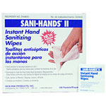 Nice-Pak D43800 Sani Hands II Individual Wetnap Sanitary Hand Wipes