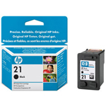 HP 21 Print Cartrid1 x Black
