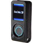 Belkin Holster Case For Sansa E200 - Holster Bag For Digital Player - Leather - Black