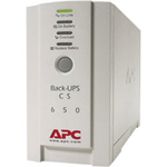 APC BK650EI Back-UPS CS 650 UPS (External) AC 230 V 400 Watt 650 VA RS-232, USB 4 Output Connector(s)