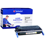 Verbatim Toner Cartridge (Replaces HP C9722A) - 1 x Yellow - 8000 Pages