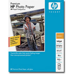 "HP Premium - Matte Photo Paper - Letter A Size (8.5"" x 11 In) - 50 Sheet(s)"