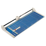 "Dahle Professional Rolling Trimmer, Model 554, 20 Sheet Capacity, 28 1/4"" Cut Length"