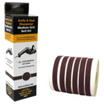 Drill Doctor Six 220 Grit Belt Kit for Work Sharp WSocketS