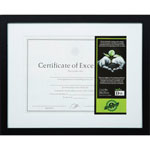 "The Burns Group Frame, FSC Wood, 11"" x 14"", Black"