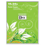 Dax Ultra Contemporary Clear Channel Poster Frame, Plexiglas® Window, 18 x 24