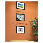 "Dax Frames, Wall Words Mediocrity, 8"" x 10"", Black"