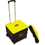 "dbest Original Quik Cart, 4-1/2"" x 18-1/2"" x 16-1/2"", Black/Yellow"