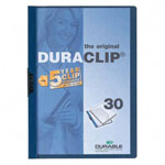 Durable DuraClip® Report Cover, Blue, Each
